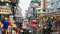 Yaowarat Rd, China Town, Bangkok (Lцdо\/іс) Tags: yaowarat road bangkok thailande thailand travel thailandia thaïlande thai china chinese town flickrtravelaward lцdоіс street rue monde asia asian asie asiatique south enseigne