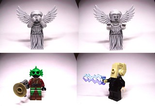 A Weeping Angel, A Silurian, and A Silent