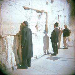 jerusalem (thomasw.) Tags: jerusalem israel travel travelpics wanderlust analog cross crossed holga mf 120 fuji