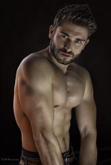 Pierre (TomB Photographie) Tags: sexyman portrait muscle man