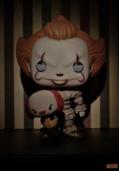 puppet show (notatoy) Tags: funko pop pint size pennywise it movie horror toys figures clown