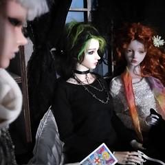 Judgement (Tatterpunk) Tags: echo giri geareye gear eye billie mason bridget carroll bjd zombie group ball jointed doll abjd iplehouse bianca fid raffine fashion raccoon raccoondoll lucy goth