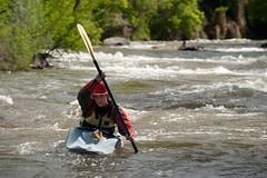 Kayaker (Ken Barber) Tags: whitewater kayak kayaker goldencolorado clearcreek outdoorsports water turbulent wet fun recreation