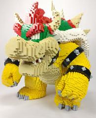 bowser (13) (Fragty) Tags: bowser nintendo super mario bros lego sculpture