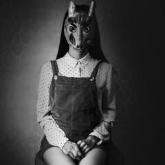 rabbit woman (kar.per) Tags: photography portrait portraitshoot picoftheday photooftheday portraitmood portraitstylesgf portraitsuniverse portraitslife portraitsfromtheworld earthportraits retrato retratos instadaily rabbit coniglio lapin collage collages woman art artistic surrealismo instagood fantasy imagination mask masque