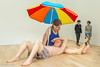 In the museum-2 (niekeblos) Tags: mueck museum canon6d hyperrealism realism body human man wife parasol