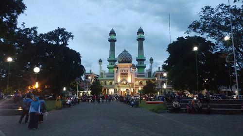 Masjid Jami Malang City.