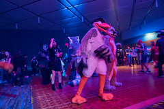 DSC01763 (Kory / Leo Nardo) Tags: furry fursuit suiting dance party dj con convention further confusion fc san jose marriott center 2018 fc2018 pupleo leo kory fur costume costuming cosplay animals