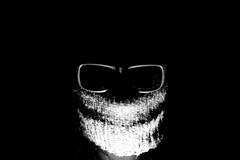 Let There Be Light (CoolMcFlash) Tags: person creepy portrait lettherebelight flickrfriday lowlight head funny spooky horror bonnet glasses light bnw blackandwhite bw monochrome fujifilm xt2 unheimlich licht kopf lustig haube sonnenbrille brille night nacht sw schwarzweis fotografie photography xf 35mm f 14 r schatten shadow smile lächeln lachen