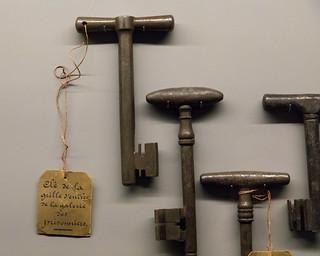 Prison keys | Conciergerie | Paris-25
