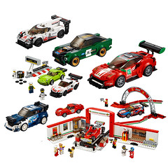 I am excited for the 2018 Speed Champions wave (KEEP_ON_BRICKING) Tags: lego speed champions 2018 set official image
