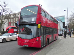 BF67GLJ (47604) Tags: bf67glj vh45234 londonunited red bus euston route service 18