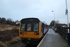 142070 Gypsy Lane, Teeside (Paul Emma) Tags: uk england teeside gypsylane railway railroad dieseltrain train 142070