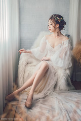 | Hannah | by Joseph Lu. - www.joseyes.com/ Facebook Hannah 胡小涵 Stylist:Kiki卓新娘秘書 / 卓秋君 Bridal Dress:愛美麗自助婚紗