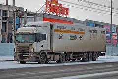 Scania G420  P 857 PУ 116 (RUS) (zauralec) Tags: kurgan street k myagotina scania g420 p 857 pу 116 rus курган автомобиль грузовик город улица