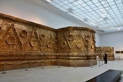 Facade of Qasr Mshatta, Umayyad, 8th cent.; Pergamon Museum, Berlin (11) (Prof. Mortel) Tags: germany berlin pergamonmuseum islamic umayyad mshatta