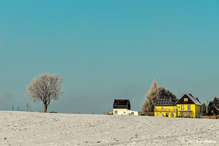 Haidefeld in the winter sun