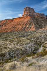 The Captain (Kirk Lougheed) Tags: chihuahuandesert elcapitan guadalupemountains guadalupemountainsnationalpark texas usa unitedstates chihuahuan desert landscape mountain nationalpark outdoor park sunset