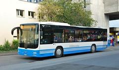 Buchs SG, Bahnhofplatz 21.09.2011 (The STB) Tags: busostschweizag bus busse autobus autobús publictransport öpnv citytransport dieschweiz suisse switzerland suiza