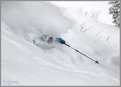 Immersion - Deep Powder Skiiing (Photo-John) Tags: deep snow powder pow alta ski skiing skier winter cold whiteroom pitted immersion athlete sports action lcc littlecottonwoodcanyon utah powderday joejohnson outdoors adventure travel greatestsnowonearth skiutah wasatch slc saltlakecity blower overhead stockphotography stockphoto editorialphotography canon eos 7d 7dmarkii 7dmkii storm stormskiing