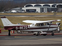 G-BEZO Remis Cessna Skyhawk 172 Staverton Flying School Ltd (Aircaft @ Gloucestershire Airport By James) Tags: gloucestershire airport gbezo reims cessna skyhawk 172 staverton flying school ltd egbj james lloyds