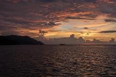 Colourful sunset (pleymalex) Tags: raja ampat bungalow homestay kri papua new guinea asia koh lanta