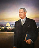 Lyndon B. Johnson 1908-1973, Thirty-sixth president, 1963-1969 (trphotoguy) Tags: lyndonbjohnson peterhurd temperaonpanel nationalportraitgallery washingtondc smithsonian americanpresidents portait 50mmf14d