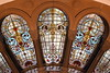 Stained glass in the cathedral of the holy handbag otherwise known as the Queen Victoria Building, Sydney. (deanmoriarty2) Tags: windows architecture nikon stainedglass sydney qvb