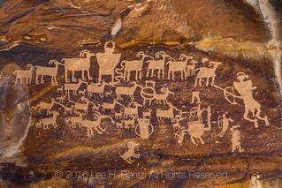Great Hunt Panel in Utah's Nine Mile Canyon