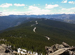 View From Chief Mountain (uhhey) Tags: colorado mountains chiefmountain evergreen