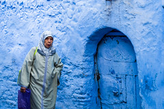 Anger Management.. (Mini-UE || Mini-Photography) Tags: fez fes morocco marokko street face old people locals local person portrait blue streets chefchaouen chef chouen moroc medina