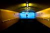 The Yellow Tunnel (The Ultimate Photographer) Tags: yellow tunnel yellowtunnel london england uk streetphotography streetart manwalking underground cityoflondon city lighting light neon yellowneon olympus em1 omd shadow tube metro station ultimatephotographer urban urbanart bridge