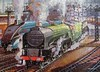 Yorkshire Pullman (pefkosmad) Tags: jigsaw puzzle hobby leisure pastime 408pieces secondhand used incomplete crusaderpuzzle yorkshirepullman train