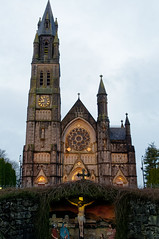 12/365 Roscommon Church, Co. Roscommon, Ireland (jblissed) Tags: church worship spire stained glass window sun roscommon ireland eire