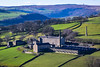 Old worsted mill in the valley (rustyruth1959) Tags: nikon nikond5600 tamron16300mm uk england yorkshire calderdale booth midgley luddendenvalley stockslane mill factory millcomplex worstedmill stone animals roof trees windows sheep houses monument stoodleypike grass moors landscape moorland farmland fields walls apartments road valley factorychimney hills oatsroydmill johnmurgatroyd worsted spinners cotton warley fire gradeiilisted