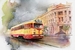 Old Kiev tram (fil_yevko) Tags: tram pcc mtv82 трамвай киев київ kiev україна ukraine