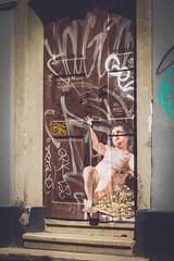(c) Wolfgang Pfleger-8162 (wolfgangp_vienna) Tags: ljubljana slovenien slovenia engel door grafiti