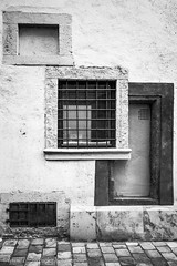 Fortuna detail (www.chriskench.photography) Tags: architecture buildings travel monochrome bw blackandwhite windows hungary kenchie wwwchriskenchphotography europe silverefexpro2
