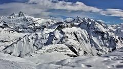 sur les hauteurs de Tignes (pileath) Tags: snow hiver winter tignes montagne panorama neige landscape sky nuage clouds