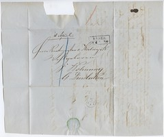. (Kaïopai°) Tags: voerde hauswohnung brief 1850 letter handwriting handschrift dokument document vankoolwijk