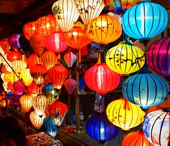 "Hoi An Night Market (sembach001) Tags: market illumination night lantern lanterns colorful vietnam vietnamese market"" hoian nikon 5300"