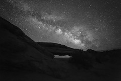 Monochrome Way in the Utah Sky (Ken Krach Photography) Tags: mesaarch canyonlandsnationalpark