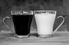 Coffee and Milk! (BGDL) Tags: lightroomcc nikond7000 bgdl afsnikkor50mm118g niftyfifty blackandwhite kitchen coffeecups coffee milk 7daysofshooting week31 coffeeteaorwhatelsedowedrink blackandwhitewednesday