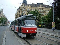 Brno tram No. 1038 (johnzebedee) Tags: tram transport publictransport vehicle brno czechrepublic johnzebedee