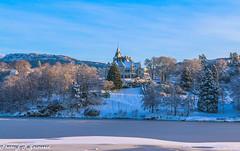 Gamlehaugen (2000stargazer) Tags: gamlehaugen bergen norway nordåsvannet winter snow ice castle architecture light landscape nature canon