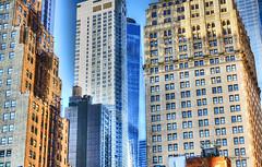 downtown metropolis (albyn.davis) Tags: nyc newyorkcity manhattan downtown buildings architecture city urban