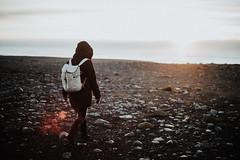 Vík, Iceland (Chris Kreymborg) Tags: travel wanderlust hiking roadtrip adventure iceland landscape nature volcano sunset backlight people sun sunrise sony sonyalpha7ii alpha7ii a7ii sonyalpha minolta rokkor 35mm rokkor35