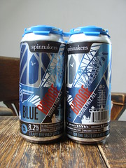 Blue Bridge Double Pale Ale (knightbefore_99) Tags: beer cerveza pivo can craft hops malt tasty local blue bridge double pale ale best victoria spinnakers