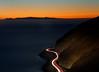 It's Easy (elevatoro) Tags: losangeles malibu pch road longexposure ocean pacific light streaks car auto drive epic deer creek mountains hills above