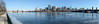 Charles ice pano (ewan.osullivan) Tags: bridge hugin ice panorama river boston charles charlesriver reflection winter